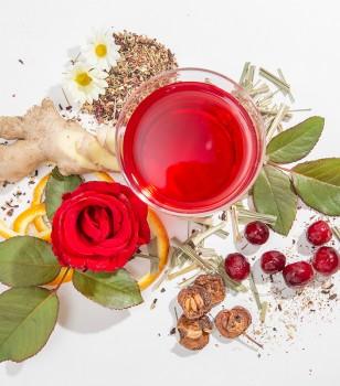 蔓越莓山楂薑茶