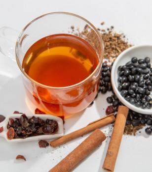 黑豆牛蒡肉桂茶